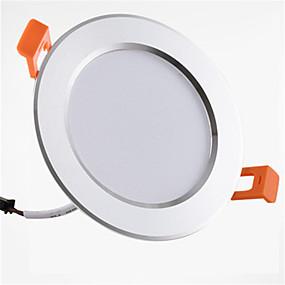 olcso Függőlámpák-1db 9 W 900 lm 20 LED gyöngyök Könnyű beszerelni Süllyesztett kapcsolók LED mélysugárzók Meleg fehér Hideg fehér 85-265 V Otthon / iroda Gyerekszoba Konyha / 1 db. / RoHs / CE