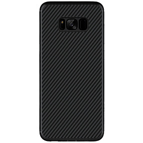 voordelige Galaxy S7 Edge Hoesjes / covers-Nillkin hoesje Voor Samsung Galaxy S8 Plus / S8 Ultradun / Patroon Achterkant Effen Hard Hiilikuitu voor S8 Plus / S8 / S7 edge