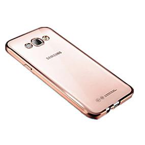 Недорогие Чехлы и кейсы для Galaxy J7(2016)-Кейс для Назначение SSamsung Galaxy J7 Prime / J7 (2016) / J5 Prime Покрытие / Прозрачный Кейс на заднюю панель Однотонный Мягкий ТПУ
