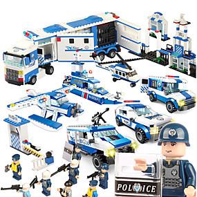 رخيصةأون ألعاب النماذج والتركيب-SHIBIAO أحجار البناء كتل عسكرية مجموعة ألعاب البناء 1040 pcs العسكرية سفينة حربية طيارة متوافق Legoing اصنع بنفسك للجنسين للصبيان للفتيات ألعاب هدية / ألعاب تربوية