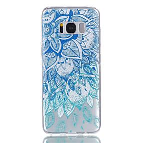 voordelige Galaxy S7 Edge Hoesjes / covers-hoesje Voor Samsung Galaxy S8 Plus / S8 / S7 edge Transparant / Patroon Achterkant Mandala Zacht TPU