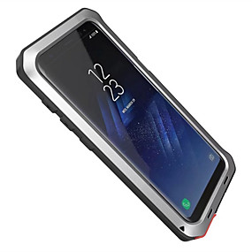 voordelige Galaxy S6 Edge Plus Hoesjes / covers-hoesje Voor Samsung Galaxy S8 Plus / S8 / S7 edge Water / Dirt / Shock Proof Volledig hoesje Schild Hard Aluminium