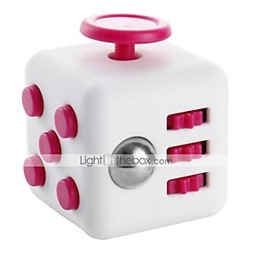 cheap Educational Toys-Fidget Desk Toy Fidget Cube for Killing Time Stress and Anxiety Relief Focus Toy Office Desk Toys Relieves ADD, ADHD, Anxiety, Autism Kid's Adults' Boys' Girls' ABS