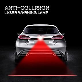 ieftine Lumini & Gadget-uri LED-auto masina anti coliziune laser lumina de automobile lazer taillight ceata lampa de avertizare de avertizare alarme lumini motocicleta camion
