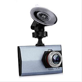 voordelige Auto DVR's-T20 Full HD 1920 x 1080 Auto DVR 120 graden Wijde hoek 3 inch(es) Dash Cam met G-Sensor / Continu-opname / auto aan / uit Autorecorder / Ingebouwde Microfoon