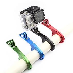 olcso Sportkamerák és GoPro tartozékok-Handlebar Mount Állítható mert Akciókamera Gopro 6 Összes Kerékpár Alumínium ötvözet