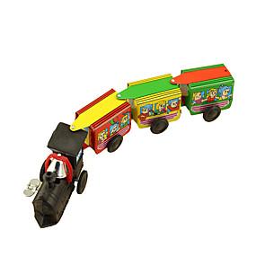 povoljno Igračke i razonoda-Igračke auti Igračka na navijanje Vlak Retro Train Kovano željezo Željezo Vintage Retro Dječji Uniseks Igračke za kućne ljubimce Poklon