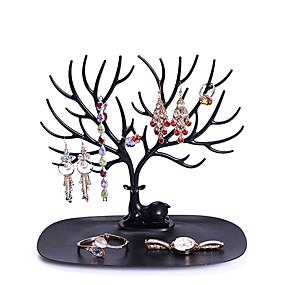 olcso Asztali rendszerezők-nyaklánc tartó karkötő állvány ékszer szervező ékszer fa dekoratív szarvas agancs fa design