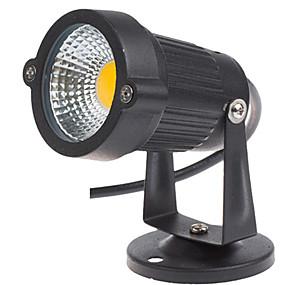 olcso LED projektorok-1db 3 W LED projektorok / Lawn Lights Vízálló / Dekoratív Meleg fehér / Hideg fehér 12 V / 85-265 V Kültéri világítás / Udvar / Kert 1 LED gyöngyök