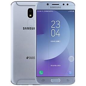 Недорогие Защитные пленки для Samsung-Samsung GalaxyScreen ProtectorJ7 (2017) Ультратонкий Протектор объектива спереди и камеры 2 штs PET