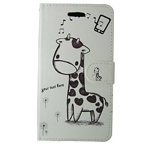 Недорогие Чехлы и кейсы для Galaxy S5 Mini-Кейс для Назначение SSamsung Galaxy S8 / S7 / S6 edge Кошелек / Бумажник для карт / со стендом Чехол Животное / Мультипликация Твердый Кожа PU