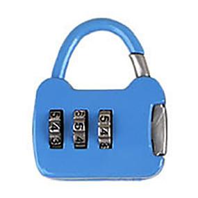 olcso Mechanical Locks-Más cink ötvözet jelszó lakat 3 jegyű jelszó notebook kis jelszó zár mini táska zár fém bőrönd doboz táska dail lock jelszó zár