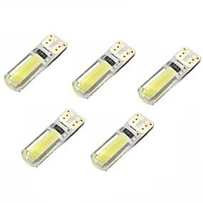 Недорогие Задние фонари-5 шт. T10 Автомобиль Лампы 2 W COB 250 lm Внутреннее освещение Назначение