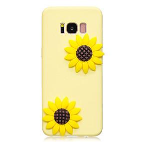 voordelige Galaxy S7 Edge Hoesjes / covers-hoesje Voor Samsung Galaxy S8 Plus / S8 / S7 edge Patroon / DHZ Achterkant Bloem Zacht TPU