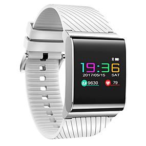 رخيصةأون الأساور الذكية-سوار الذكية إلى iOS / Android رصد معدل ضربات القلب / أصفر فاتح / رمادي داكن / إسبات الطويل / شاشة لمس عداد الخطى / تذكرة بالاتصال / متتبع النشاط / متتبع النوم / تذكير المستقرة / مقاوم للماء