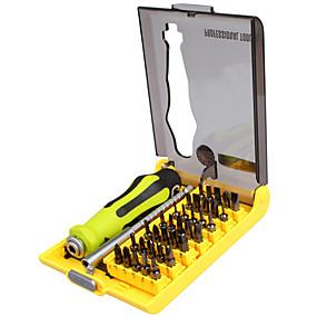 povoljno Odvijači i setovi odvijača-Najbolje-8914 preciznost 37 u 1 višenamjenskom vozaču odvijača magnetskog bita set za kutija za otvaranje mobilnog telefona xbox