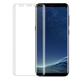 Недорогие Чехлы и кейсы для Galaxy S-Samsung GalaxyScreen ProtectorS8 2.5D закругленные углы Защитная пленка для экрана 1 ед. TPU
