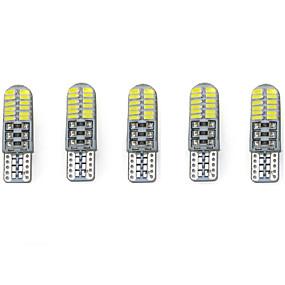 Недорогие Задние фонари-T10 Грузовик / Автомобиль Лампы 3 W SMD 3014 216-220 lm Внутреннее освещение Назначение