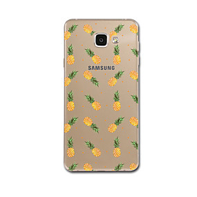 voordelige Galaxy A8 Hoesjes / covers-hoesje Voor Samsung Galaxy A5(2017) A3(2017) Transparant Patroon Achterkant Fruit Zacht TPU voor A3 (2017) A5 (2017) A7 (2017) A8