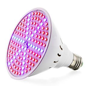 tanie Lampy do hodowli roślin-wyhodować lampy do roślin i systemu hydroponicznego 8w (90red + 36blue) e27 (85-265v) 780-935lm