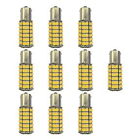 رخيصةأون مصابيح إشارات السيارات-10pcs 1156 سيارة لمبات الضوء 4W SMD 3528 385lm ضوء لمبات الصمام ضوء إشارة اللف