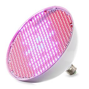 olcso Növényvilágítás-1db 30 W Növekvő izzólámpa 14400-16000M E26 / E27 800 LED gyöngyök SMD 2835 Piros Kék 85-265 V / 1 db. / RoHs / FCC