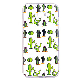 voordelige Galaxy A3(2016) Hoesjes / covers-hoesje Voor Samsung Galaxy A3 (2017) / A5 (2017) / A7 (2017) Transparant / Patroon Achterkant Boom Zacht TPU