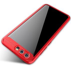 Недорогие Чехлы и кейсы для Huawei Honor-Кейс для Назначение Huawei Honor 9 / Honor V9 / Huawei Зеркальная поверхность / Прозрачный Кейс на заднюю панель Однотонный Мягкий Силикон