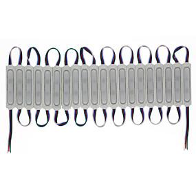 olcso LEDbetétek-hkv® led 3 led modul 12v vízálló rgb színváltoztatható led modulok vízálló könnyű reklámlámpák világítására
