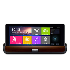 voordelige GPS-volgapparatuur-h99 dual lens android 7 inch centrale console navigator