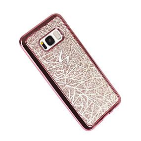 voordelige Galaxy S7 Edge Hoesjes / covers-hoesje Voor Samsung Galaxy S8 Plus / S8 / S7 edge Beplating / Patroon Achterkant Geometrisch patroon Zacht TPU