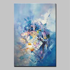 povoljno Bojano-Hang oslikana uljanim bojama Ručno oslikana - Sažetak Sažetak Moderna Bez unutrašnje Frame / Valjani platno