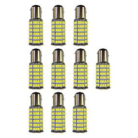 رخيصةأون مصابيح إشارات السيارات-10pcs 1157 سيارة لمبات الضوء 4W SMD 3528 385lm ضوء لمبات الصمام ضوء إشارة اللف