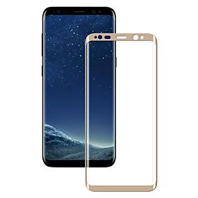 Недорогие Чехлы и кейсы для Galaxy S-Samsung GalaxyScreen ProtectorS8 Plus 2.5D закругленные углы Защитная пленка на всё устройство 1 ед. Закаленное стекло