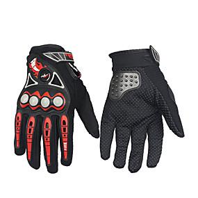 voordelige Motorhandschoenen-volledige vinger unisex motorhandschoenen koolstofvezel waterdicht / ademend / warm