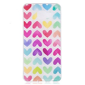 voordelige Galaxy A3(2016) Hoesjes / covers-hoesje Voor Samsung Galaxy A3 (2017) / A5 (2017) / A5(2016) IMD / Patroon Achterkant Hart Zacht TPU