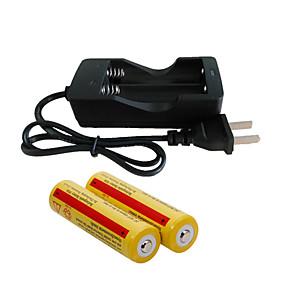 povoljno Svjetiljke-Punjač za baterije baterija 4200 mAh za 18650 Može se puniti Prijenosno Brzo punjenje United Kingdom EU SAD Camping & planinarenje / Ribolov / US utikač / EU utikač / UK utikač