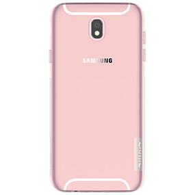 voordelige Galaxy J5(2017) Hoesjes / covers-Nillkin hoesje Voor Samsung Galaxy J7 (2017) / J3 (2017) Ultradun / Transparant Achterkant Effen Zacht TPU voor J7 (2017) / J5 (2017) / J3 (2017)