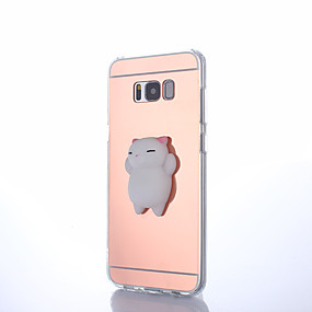 povoljno Galaxy S7 Edge - Torbice / kućišta-Θήκη Za Samsung Galaxy S8 Plus / S8 / S7 edge Zrcalo / Uradi sam / squishy Stražnja maska Jednobojni Tvrdo PC