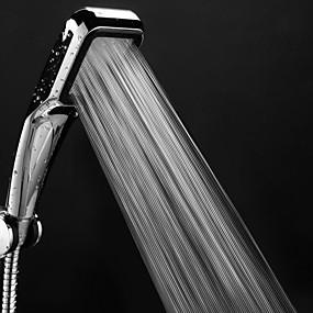 povoljno Slavine-tuš-glava za tuš 300 rupa s kromiranom četverokutnom kišnicom za prskanje prskalica koja štedi vodu