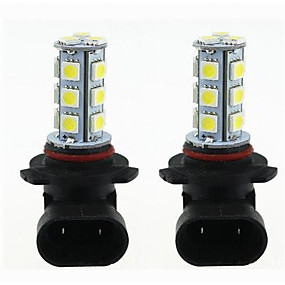 رخيصةأون مصابيح إشارات السيارات-2pcs H11 / 9005 / 9006 سيارة لمبات الضوء 3 W SMD 5050 270 lm LED ضوء إشارة اللف