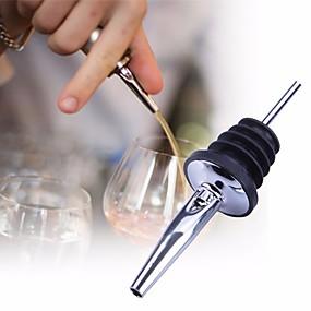 olcso Báros készlet-rozsdamentes acél folyadék szeszes öntvény áramlási borosüveg öntés kiöntő stopper barware