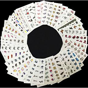 olcso Körömmatricák-50 Nail Art matrica Other smink Kozmetika Nail Art Design