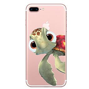 voordelige iPhone 11 Pro Max hoesjes-hoesje Voor Apple iPhone XS / iPhone XR / iPhone XS Max Transparant / Patroon Achterkant dier Zacht TPU