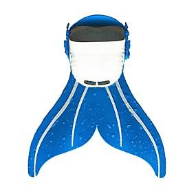 olcso Vízi sportok-Búvárkodás uszonyok Uszonyok Sellő Könnyű Rövid uszony Úszás Búvárkodás Szabadtüdős merülés PE - mert Gyerekek Kék Rózsaszín Kék / fehér