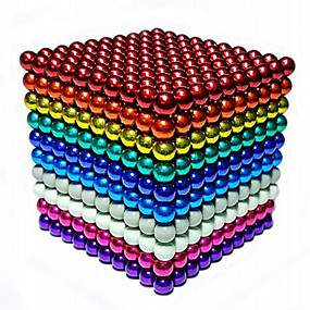 povoljno Igračke i razonoda-216/512/1000 pcs 5mm Magnetne igračke Magnetske kuglice Kocke za slaganje Snažni magneti Magnetska igračka Magnetska igračka Stres i anksioznost reljef Uredske stolne igračke Uradi sam Dječji