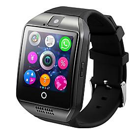 Недорогие Smart Watch Phone-smartwatch q18 для android ios bluetooth монитор сердечного ритма водонепроницаемый спортивный калории сжигаемый камера таймер шагомеры будильник
