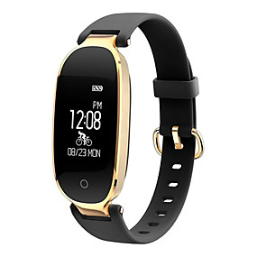 رخيصةأون الأساور الذكية-s3 الذكية معصمه بلوتوث اللياقة البدنية تعقب دعم الإخطار / رصد معدل ضربات القلب الرياضية للماء smartwatch للهواتف فون / سامسونج / الروبوت
