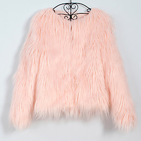 cheap Women's Accessories-Faux Fur Wedding / Party / Evening Women's Wrap With Coats / Jackets