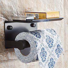 رخيصةأون أدوات الحمام-حمالة ورق تواليت الحديث ألمنيوم 1 قطعة - حمام الفندق